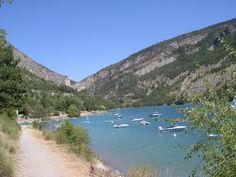 Lac de Sainte Croix ( Alpes, gorge du verdon)