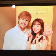 BTOB sungjae and Apink Namjoo