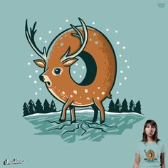 O Deer on Threadless