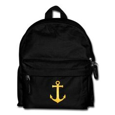 Sac à dos Cool Hipster Anchor (Golden Beach / beach - style) #cloth #cute #kids# #funny #hipster #nerd #geek #awesome #gift #shop   #white   #art   #illustration   #watch  ~ get $10 off using code: 5A7DC3
