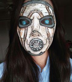 Borderlands 2 psycho face-paint