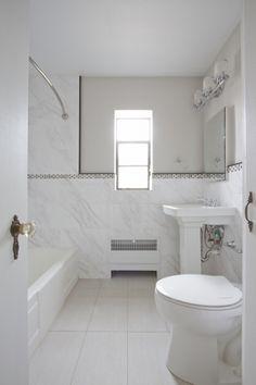 Our Master Bath Tile Carrara Porcelain Tile Daltile Fl06