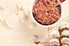 Farce au porc (raviolis chinoi... - Recette chinoise