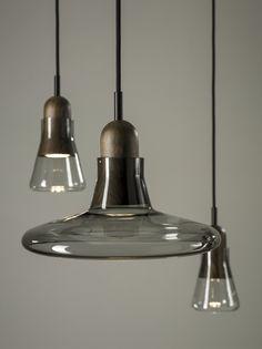 Meet our new Shadows Walnut. Shadows design by Lucie Koldova & Dan Yeffet for Brokis lights.