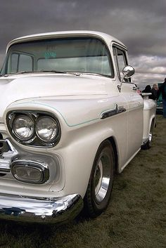 Chevy Truck, via Flickr. I cant wait to have one of these...and my favorite color too