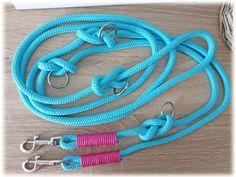 Tau Hundeleine - verstellbar von Doggywelt auf Etsy Personalized Items, Bracelets, Etsy, Jewelry, Basic Colors, Craft Gifts, Linen Fabric, Schmuck, Jewlery