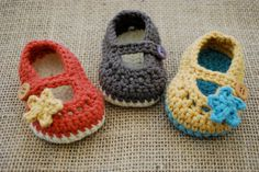 Baby Girl, Mary Jane Booties, You Choose Colors, Baby Girl Clothes, Baby Girl Booties. $18.00, via Etsy.