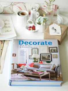 i am a huge fan of Holly Becker's decorating blog www.decor8blog.com.  her new book Decorate is on my wish list and is sold at Anthropologie.