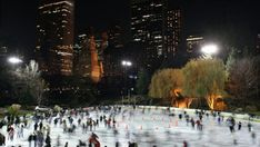"""If you're an Adventure Diva about to embark on our """"Serendipity"""" movie trek then ice skating in Central Park is a must. Visit Wollman Rink in the Big Apple during the winter to immerse in one of the movie's most infamous scenes, and be sure to check our """"Serendipity - Movie Adventures"""" board for more goodies to help you plan your very best happy accidents adventure! http://www.pinterest.com/estrogenarmy/serendipity-movie-adventures/  #EstrogenArmy #movies #skating #winter"""