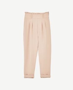 Image 6 of HIGH RISE TROUSERS from Zara