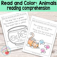 Add some coloring to reading with this set of animals read and color reading comprehension worksheets. These are great for both reading comprehension and listening comprehension. Animals Read and Color Reading Comprehension Worksheets for Grade 1 and Kindergarten This printable pack contains 20 unique worksheets. What to expect from this worksheets set; 20 fun read and...Read More »