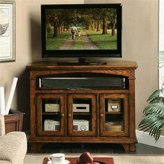 Marston Corner TV Console I Riverside Furniture