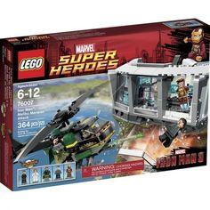 Đồ chơi LEGO Super Heroes 76007 Iron Man Malibu Mansion Attack