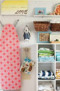 craft room makeovers This is full of amazing ideas for how to organize a craft room or creative work space using thrifty and cute storage ideas and a step by step process.