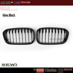 2015+ F20 LCI Black Bumper Grill Replacement ABS Car Grille for BMW 1 Series F20 F21 118i M135i 116d 120i 120d Urban Line