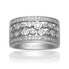 Sardinien Ring, Vit, Sif Jakobs