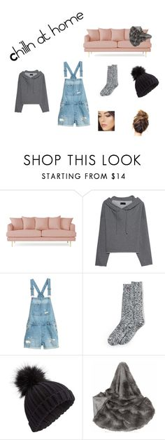 """Chilln at home"" by lynette1964 ❤ liked on Polyvore featuring Joybird, RtA, Lands' End and Miss Selfridge"