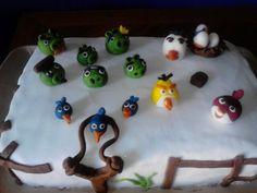 Vlada's birthday cake - Angry birds