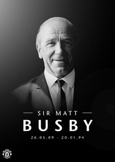 """Sir Bobby Charlton ""can't believe it's 20 years since Sir Matt died. Not a day goes by when I don't think about him. Manchester United Club, Matt Busby, Bobby Charlton, Eric Cantona, Premier League Champions, Man United, One Team, First Love, The Unit"