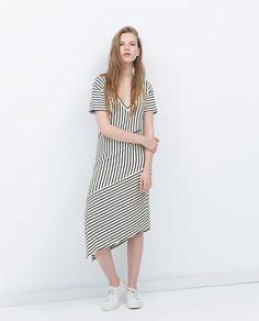ZARA - SALE - STRIPED DRESS