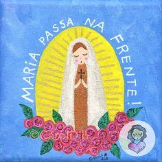 MARIA PASSA NA FRENTE! #sementinhascorderosa #caroldib #quadrinho