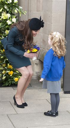 The Duchess of Cambridge With Kids