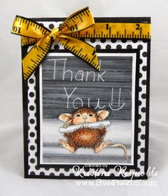 Stamping & Scrapping in California: Thank You Mouse