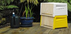 Urban beehive design | Curve | Urban, Beehive, New, Zealand, design, graduate, Rowan, Dunford, urban, bees