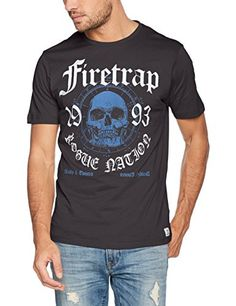 75ad33f28 New Arrivals 2017 Mens Top Fashion Brands #Promotions New In Store Today  Firetrap Men's Tee