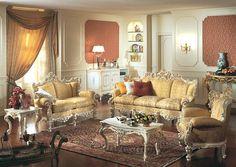 italian living room furniture | ... , Italian Classic Furniture ...