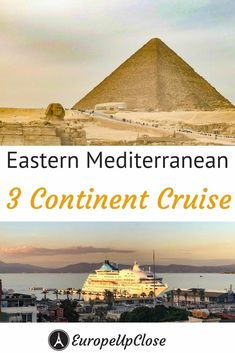 The ultimate Bucket List Cruise: 3 Continents - 6 Countries - 5 UNESCO Sites! Take a look at this great Eastern Mediterranean Cruise. Cruise Europe, Packing For A Cruise, Cruise Travel, Europe Travel Tips, Cruise Vacation, European Travel, Travel Usa, Travel Destinations, Greece Destinations