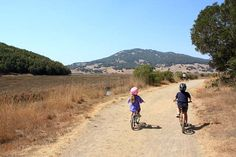 Mountain biking in Marin- easy rides for families