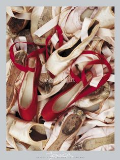 """""""Satin Shoes"""" by #HarveyEdwards renowned for capturing the detail of a scene in his photography."""