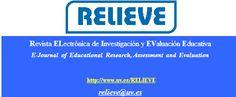 RELIEVE. Revista ELectrónica de Investigación y EValuación Educativa E-Journal  of  Educational  Research, Assessment  and  Evaluation Journals