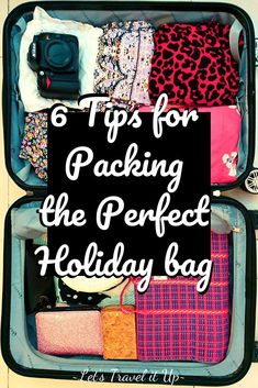 The stress of packing shouldn't take away from your excitement. Have a look at our 6 tips for Packing the perfect holiday bag here! Travel Advise, Travel Tips, Start Pack, Big Bottle, Pack Your Bags, Small Bottles, Going On Holiday, What To Pack, Wanderlust Travel