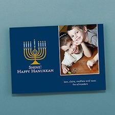 personalize your unique religious Hanukah, Hannukah invitation cards with your own unique invitations wordings at CardsShoppe