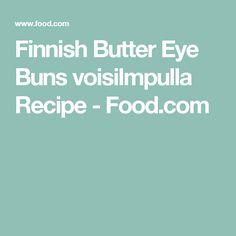 Finnish Butter Eye Buns voisilmpulla Recipe - Food.com