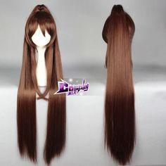 Collection-Braun-Gelatt-Coslay-Peruecke-Wig-Ladieshair-Zopf-Maedchen-Halloween-DE