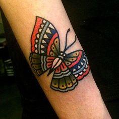 by, @kimsany #butterfly #hybridink #tattoo #art #illustration #studio #seoul #korea