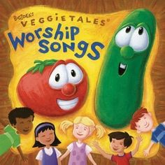 Veggie Tales Worship Songs CD