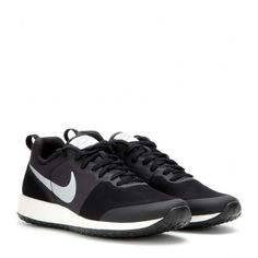 Nike Nike Elite Shinsen Sneakers ($100) ❤ liked on Polyvore featuring shoes, sneakers, black, nike sneakers, black trainers, kohl shoes, nike shoes e nike footwear
