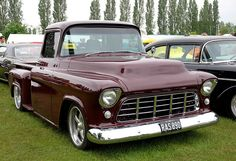 1955 or 56 Chevy Pickup Truck (Stepside) by Car Crazy Rob, via Flickr