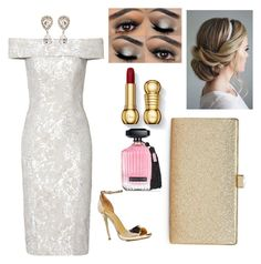 """""""Formal"""" by aini0397 on Polyvore featuring Theia, Dolce&Gabbana, La Regale, Boohoo and Victoria's Secret"""