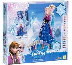 Disney Frozen Sticky Frozen Mosaics http://www.parentideal.co.uk/argos---disneys-frozen.html