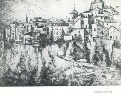 Exposición de F. Reolid en la Diputación Provincial de Cuenca Agosto 1967 #DiputacionProvincialCuenca #Cuenca #FernandezReolid