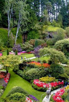 Butchart Gardens, Victoria, British Columbia. 3.5 Hours from Downtown Vancouver