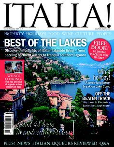 Issue no.36 of Italia! magazine