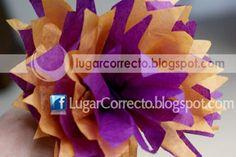 POMPONES PARA HALLOWEEN, VARIOS MODELOS 100% DECORATIVOS 100% HECHOS POR MANOS MEXICANAS 100% ORIGINALES  HECHOS DE PAPEL TISUUE SURTIMOS DESDE 10 PIEZAS + INFO www.lugarcorrecto.blogspot.com