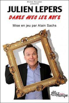 DANSE AVEC LES MOTS spectacle de Julien LEPERS