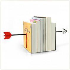 Serre-livres Flèche #serre-livres #fleche